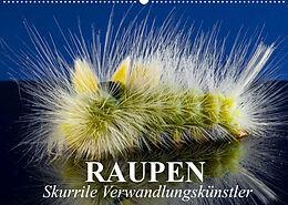 Kalender Raupen - Skurrile Verwandlungskünstler (Wandkalender 2022 DIN A2 quer) von Elisabeth Stanzer
