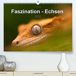 Kalender Faszination - Echsen (Premium, hochwertiger DIN A2 Wandkalender 2022, Kunstdruck in Hochglanz) von Axel Hilger