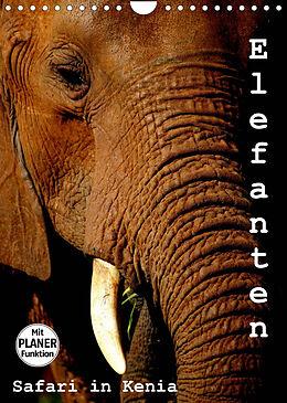 Kalender (Kal) Elefanten. Safari in Kenia (Wandkalender 2022 DIN A4 hoch) von Susan Michel /CH