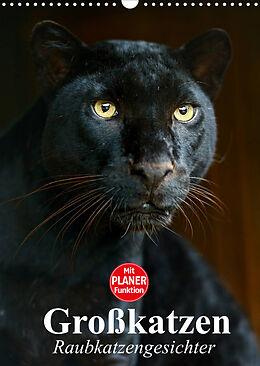 Kalender (Kal) Großkatzen. Raubkatzengesichter (Wandkalender 2022 DIN A3 hoch) von Elisabeth Stanzer