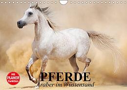 Kalender (Kal) Pferde. Araber im Wüstensand (Wandkalender 2022 DIN A4 quer) von Elisabeth Stanzer
