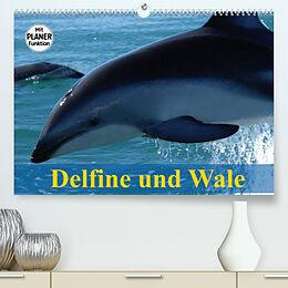 Kalender Delfine und Wale (Premium, hochwertiger DIN A2 Wandkalender 2022, Kunstdruck in Hochglanz) von Elisabeth Stanzer