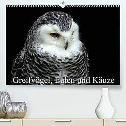 Kalender Greifvögel, Eulen und Käuze (Premium, hochwertiger DIN A2 Wandkalender 2022, Kunstdruck in Hochglanz) von Arno Klatt