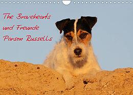 Kalender (Kal) The Bravehearts und Freunde - Parson Russells (Wandkalender 2022 DIN A4 quer) von Maike Clüver