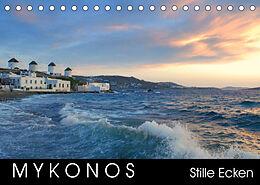 Kalender (Kal) Mykonos - Stille Ecken (Tischkalender 2022 DIN A5 quer) von Katrin Manz