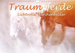 Kalender (Kal) Traumpferde. Lichtvolle Märchenbilder (Wandkalender 2022 DIN A4 quer) von Liselotte Brunner-Klaus