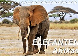 Kalender (Kal) Elefanten Afrikas (Tischkalender 2022 DIN A5 quer) von Jürgen Feuerer