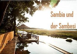 Kalender Sambia und der Sambesi (Wandkalender 2022 DIN A2 quer) von daniel slusarcik photography (dsp)