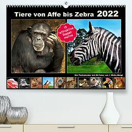 Kalender Tiere von Affe bis Zebra 2022 (Premium, hochwertiger DIN A2 Wandkalender 2022, Kunstdruck in Hochglanz) von © Mirko Weigt, Hamburg