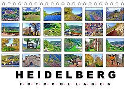 Kalender (Kal) Heidelberg Fotocollagen (Tischkalender 2022 DIN A5 quer) von Claus Liepke