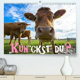 Kalender Kuhckst du? (Premium, hochwertiger DIN A2 Wandkalender 2022, Kunstdruck in Hochglanz) von Gregor Herzog
