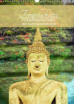 Kalender (Kal) Tempelschätze (Wandkalender 2022 DIN A3 hoch) von CrystalLights by Sylvia Seibl