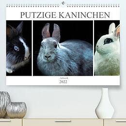 Kalender Putzige Kaninchen - Artwork (Premium, hochwertiger DIN A2 Wandkalender 2022, Kunstdruck in Hochglanz) von Liselotte Brunner-Klaus