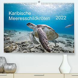 Kalender Karibische Meeresschildkröten (Premium, hochwertiger DIN A2 Wandkalender 2022, Kunstdruck in Hochglanz) von Yvonne & Tilo Kühnast - naturepics