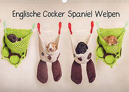 Kalender Englische Cocker Spaniel Welpen (Wandkalender 2022 DIN A3 quer) von Sabrina Wobith Photography - FotosVonMaja