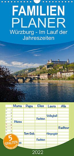 Kalender Würzburg - Im Lauf der Jahreszeiten (Wandkalender 2022 , 21 cm x 45 cm, hoch) von Volker Müther