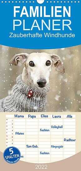 Kalender Zauberhafte Windhunde (Wandkalender 2022 , 21 cm x 45 cm, hoch) von Kathrin Köntopp