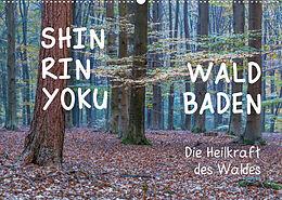Kalender Shinrin yoku - Waldbaden 2022 (Wandkalender 2022 DIN A2 quer) von Irma van der Wiel www.kalender-atelier.de