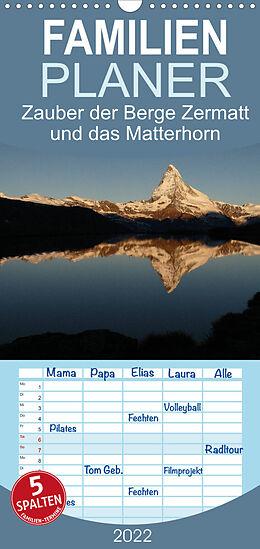Kalender Zauber der Berge Zermatt und das Matterhorn (Wandkalender 2022 , 21 cm x 45 cm, hoch) von Günter Franz Müller Fotografie