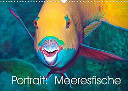 Kalender (Kal) Portrait: Meeresfische (Wandkalender 2022 DIN A3 quer) von Ute Niemann