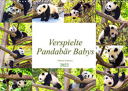 Kalender (Kal) Pandabär Babys (Wandkalender 2022 DIN A3 quer) von Simone Gatterwe