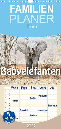 Kalender Babyelefanten (Wandkalender 2022 , 21 cm x 45 cm, hoch) von ROBERT STYPPA