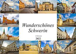 Kalender (Kal) Wunderschönes Schwerin (Wandkalender 2022 DIN A4 quer) von Dirk Meutzner