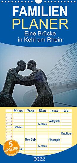 Kalender Eine Brücke in Kehl am Rhein (Wandkalender 2022 , 21 cm x 45 cm, hoch) von Joern Stegen