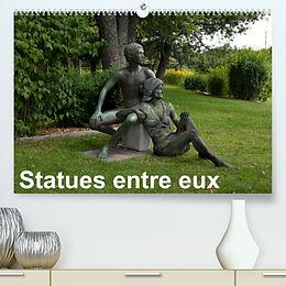 Kalender (Kal) Statues entre euxCH-Version (Premium, hochwertiger DIN A2 Wandkalender 2022, Kunstdruck in Hochglanz) von Romana Lara