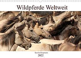 Kalender (Kal) Wildpferde Weltweit (Wandkalender 2022 DIN A3 quer) von Karolin Heepmann - www.Karo-Fotos.de