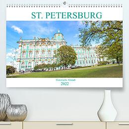 Kalender (Kal) St. Petersburg - Historische Altstadt (Premium, hochwertiger DIN A2 Wandkalender 2022, Kunstdruck in Hochglanz) von pixs:sell