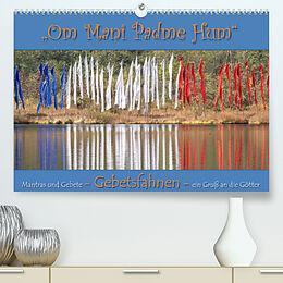 Kalender Gebetsfahnen - ein Gruß an die Götter (Premium, hochwertiger DIN A2 Wandkalender 2022, Kunstdruck in Hochglanz) von Max Watzinger - traumbild