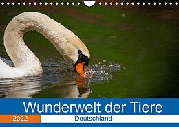 Kalender (Kal) Wunderwelt der Tiere - Deutschland (Wandkalender 2022 DIN A4 quer) von Dirk Fritsche (Five-Birds Photography - www.5bp.de)