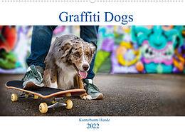 Kalender Graffiti Dogs (Wandkalender 2022 DIN A2 quer) von Judith Dzierzawa / DoraZett