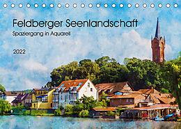 Kalender (Kal) Feldberger Seenlandschaft - Spaziergang in Aquarell (Tischkalender 2022 DIN A5 quer) von Kerstin Waurick