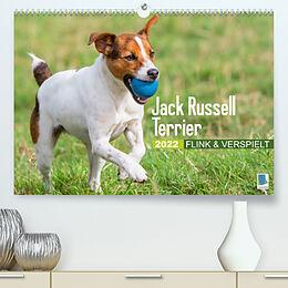 Kalender (Kal) Jack Russell Terrier: flink und verspielt (Premium, hochwertiger DIN A2 Wandkalender 2022, Kunstdruck in Hochglanz) von CALVENDO