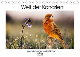 Kalender (Kal) Welt der Kanarien (Tischkalender 2022 DIN A5 quer) von AkremaFotoArt