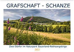 Kalender Grafschaft - Schanze (Wandkalender 2022 DIN A2 quer) von Heidi Bücker