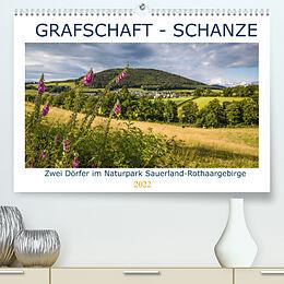 Kalender Grafschaft - Schanze (Premium, hochwertiger DIN A2 Wandkalender 2022, Kunstdruck in Hochglanz) von Heidi Bücker