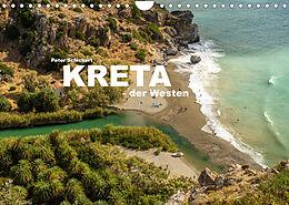 Kalender (Kal) Kreta - der Westen (Wandkalender 2022 DIN A4 quer) von Peter Schickert