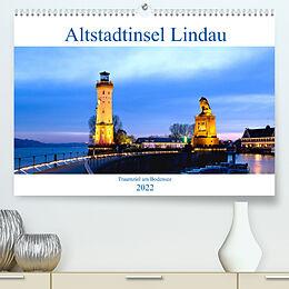 Kalender Altstadtinsel Lindau - Traumziel am Bodensee (Premium, hochwertiger DIN A2 Wandkalender 2022, Kunstdruck in Hochglanz) von U boeTtchEr
