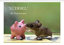 """Kalender (Kal) """"Küddel"""" die Gartenmaus (Wandkalender 2022 DIN A3 quer) von Alexa Körner"""