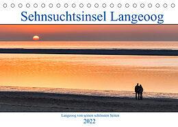 Kalender Sehnsuchtinsel Langeoog (Tischkalender 2022 DIN A5 quer) von Andreas Klesse