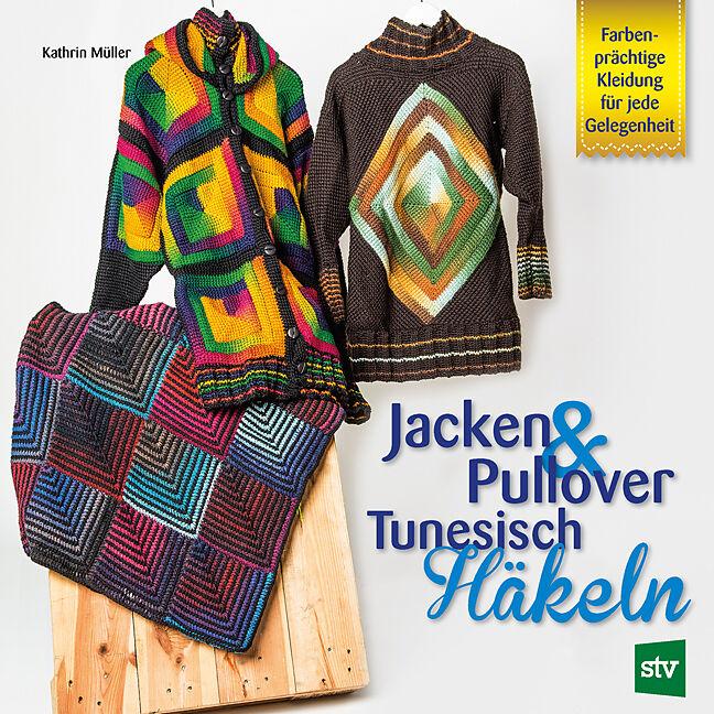 Jacken Pullover Tunesisch Häkeln Kathrin Müller Acheter La
