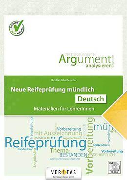 Loseblatt Neue Reifeprüfung mündlich. Deutsch von Christian Schacherreiter