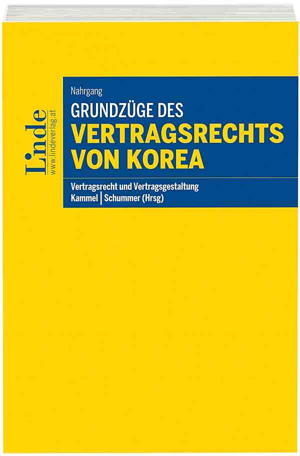 Grundzüge des Vertragsrechts von Korea - Nicolai Nahrgang - Buch ...