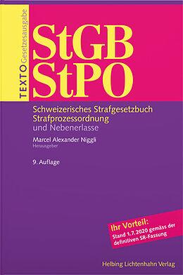 Paperback Texto StGB/StPO von