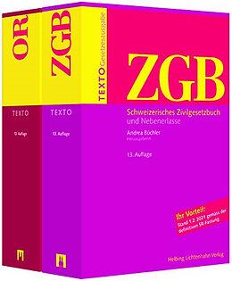 Paperback TEXTO Kombipaket ZGB, OR von
