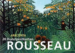 Postkartenbuch Henri Rousseau [Version allemande]