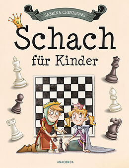 Fester Einband Schach für Kinder von Sabrina Chevannes
